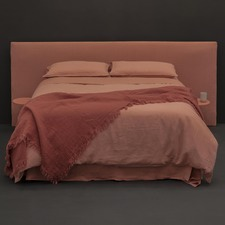 Clay Linen Quilt Cover Set