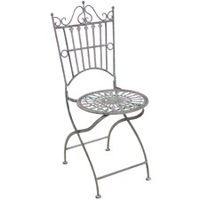 Provence Outdoor Metal Chairs (Set of 2)