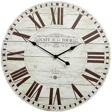 Café de la Tour Wall Clock