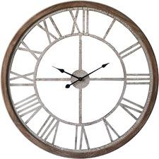 93cm Industrial Crackle Wall Clock