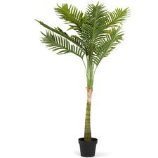 150cm Faux Potted Solitaire Palm