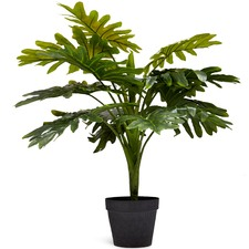 70cm Faux Potted Monstera Plant