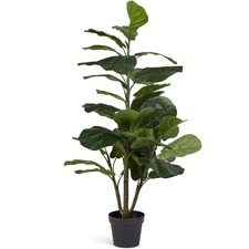 120 cm Faux Potted Fiddle Leaf Fig Tree