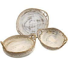 3 Piece Nesting Woven Bowl Set (Set of 3)