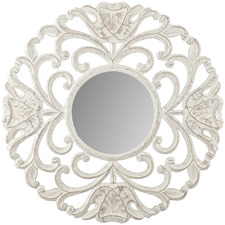 White Circolo Wall Mirror