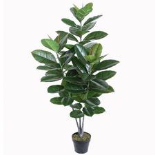 128cm Potted Artificial Faux Ficus Tree