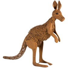 Rust Kangaroo Garden Ornament