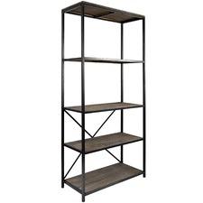5 Tier Capri Panelled Shelf Stand