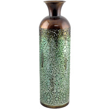 Gloss Finish Moroque Decorative Vase