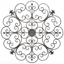 Circolo Metal Fleur Wall Decor