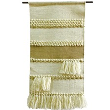 Handwoven Wool & Cotton Wall Hanging