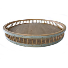 Avante Iron & Bamboo Tray