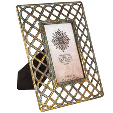 Lustre Coiled Metal Photo Frame