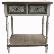Chateau 2 Drawer Wood Console Table