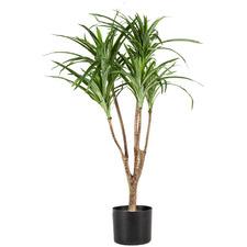 80cm Potted Faux Pandanus Palm Tree