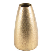 Gold Cerchio Decorative Vase