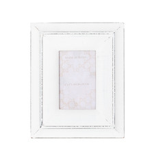 "Antique White Dmitri 4 x 6"" Photo Frame (Set of 2)"