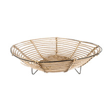 Natural Round Rattan Fruit Bowl