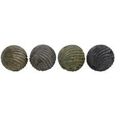 4 Piece Nirvana Stone Decorative Ball Set