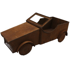 Rust Farmers Truck Metal Planter