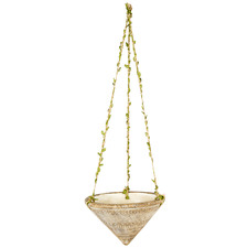 Earth Cone Hanging Planter