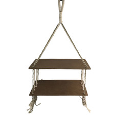 Hamptons Hanging Shelf with Rope