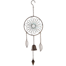Modern Flower With Bell Wall Hanging