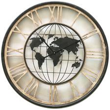 70cm World Map Wall Clock