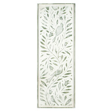 Birds In Tree Pressed Metal Wall Panel