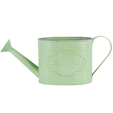 Green Flower Shop Watering Can Planter