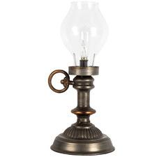 Satumba Vintage-Style Metal Table Lamp