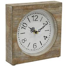 Natural Hamptons Table Clock