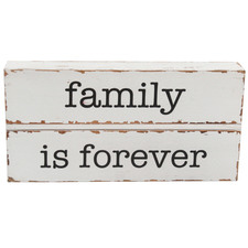 Family Is Forever Wooden Wall Sign