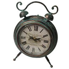 Chardonnay Metal Table Clock