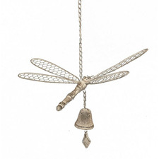 Dragonfly with Bell Wind Chime