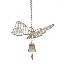 Butterfly with Bell Wind Chime