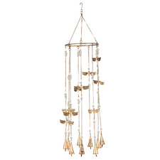 Dragonflies, Beads & Bells Wind Chime