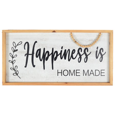 Happiness Is Home Made Wall Sign