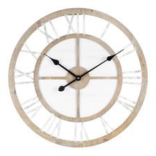 60cm Scandinavian Style Geometric Wall Clock