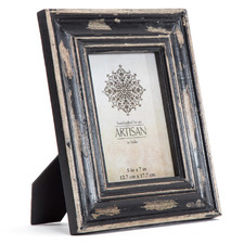 "Black & Gold Imperial 5 x 7"" Photo Frame"