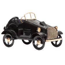 Black Vintage Car Figurine