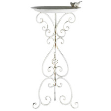Martinique Metal Bird Feeder with Stand