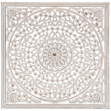 Mandala Hand-Crafted Wall Accent
