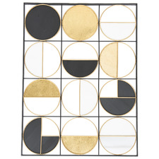 Lustre Geometric Wall Accent