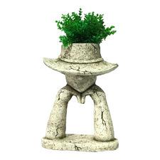 Arty Thinking Hat Planter