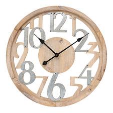 60cm Industrial Floating Wall Clock