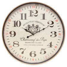 60cm XL Balgownie Iron Wall Clock