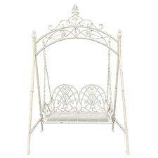 2 Seater XXL Ornate Metal Garden Swing