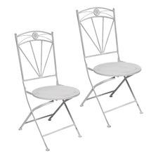 Herald Metal Patio Chairs (Set of 2)