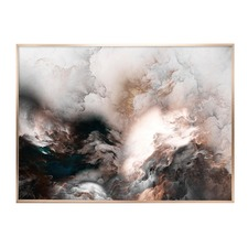 Luxe Storm Framed Print